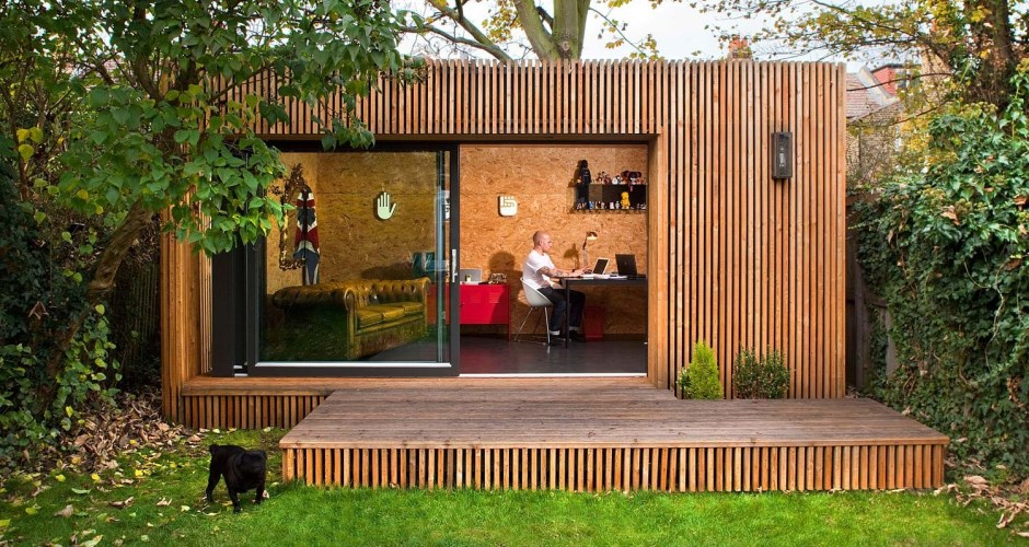The Outdoor and Garden Home Office